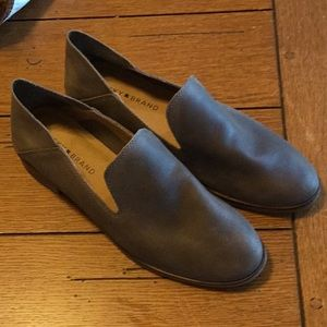 Lucky Brand Cahill leather slip ons